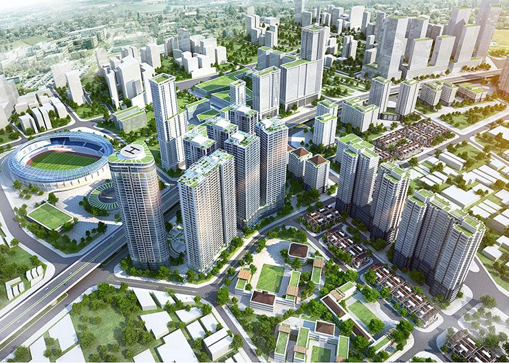 Lô e khu đô thị Đại Kim – Khu biệt thự liền kề trong xanh giữa lòng Hà Nội