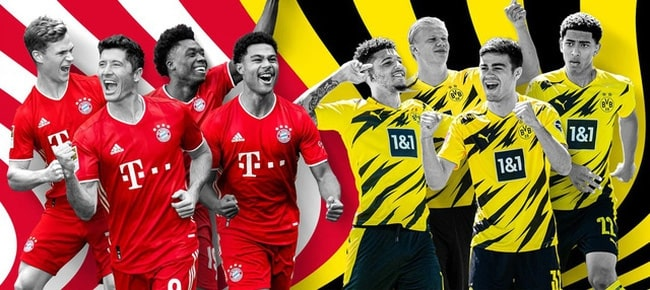 Nhận định bóng đá ngày 08/11 giữa 2 đội tuyển mạnh Borussia Dortmund và Bayern Munich – giải bóng đá Đức