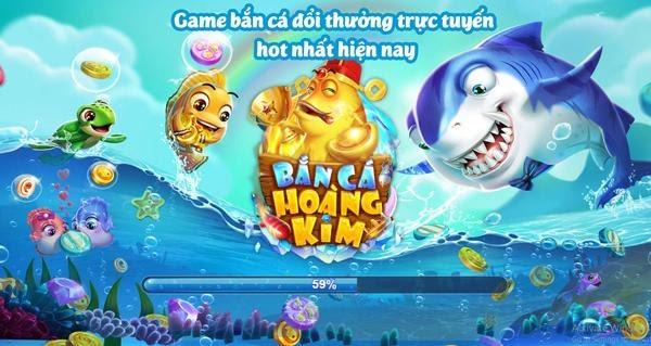 Download trò game bắn cá hoàng kim đổi thưởng về mobile hấp dẫn nhất hiện nay